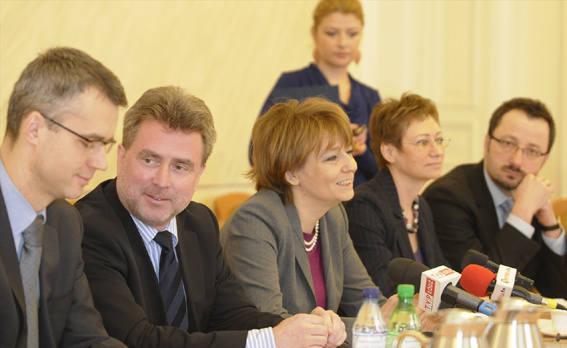 Prezydent Łodzi, Hanna Zdanowska i wiceprezydenci
