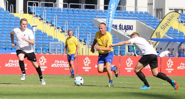 Podczas II Pikniku Rodzinnego na Stadionie Śląskim został rozegrany Mecz Gwiazd. Oldboje Śląskiego ZPN zmierzyli się z reprezentacją Urzędu Marszałkowskiego