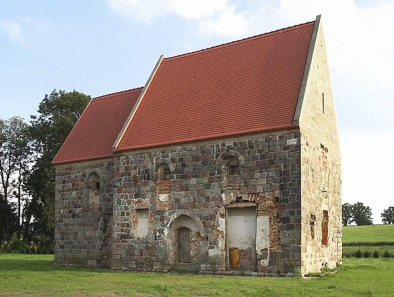 Kaplica templariuszy w Rurce, cześć dawnej komandorii