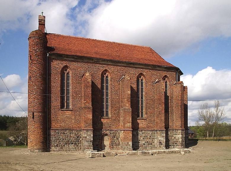 Chwarszczany - kaplica templariuszy, cześć dawnej komandorii