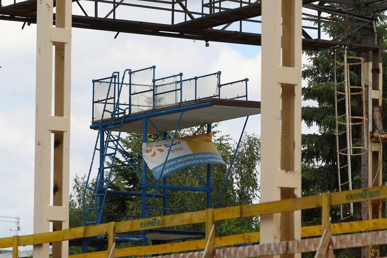 W piątek rozstrzygnie się, czy firma która miała wybudować basen przy ul. Matuszczaka dokończy tę inwestycję. Jeśli wykonawca nie dostarczy miastu brakujących