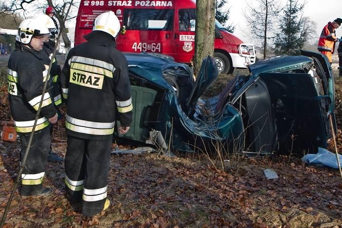 Do wypadku doszło w okolicy miejscowości Gołańcz Pomorski ( powiat gryficki). W wyniku tego zdarzenia zginęła kobieta, która kierowała pojazdem.