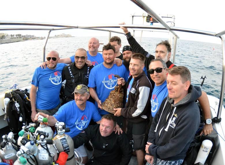 Ekipa Stowarzyszenia Wyprawy Wrakowe w czasie poprzednich ekspedycji. Teraz będą poszukiwać wraku ORP Orzeł