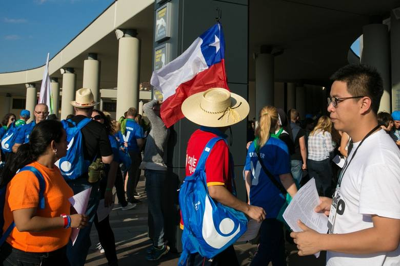 Wolontariusze z całego świata już są w mieście [ZDJĘCIA]