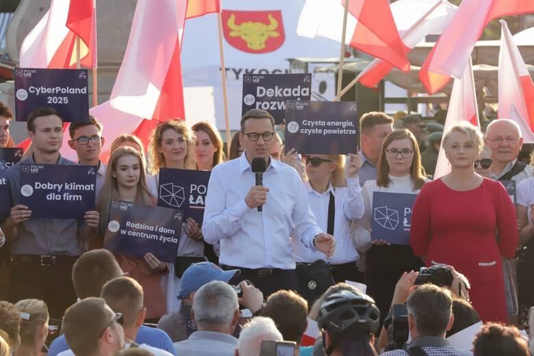 Premier RP Mateusz Morawiecki w Podlaskiem i Białymstoku. Relacja NA ŻYWO (22.07.2021)