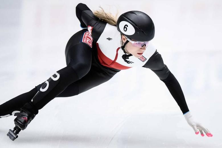 Natalia Maliszewska - pierwsza w klasyfikacji generalnej Pucharu Świata na 500 metrów