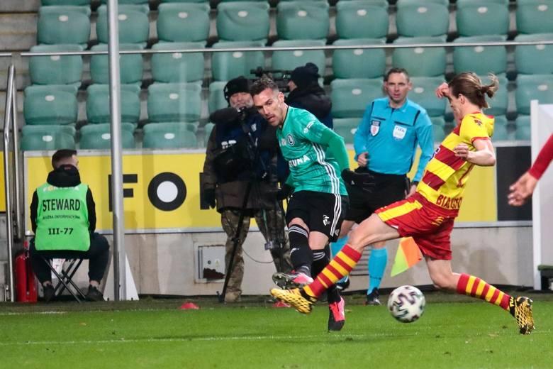 W lutym tego roku Legia pokonała u siebie Jagiellonię 4:0