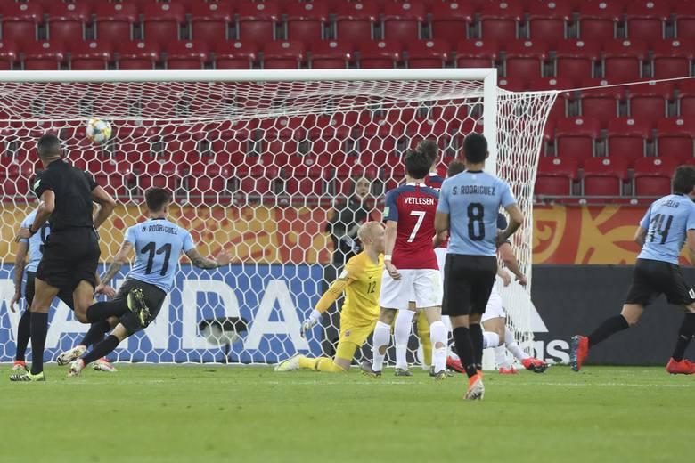 MŚ U20: Urugwaj pewnie pokonał Norwegię 3:1