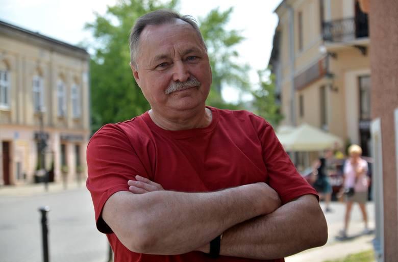 Jerzy Rachwald, znany lubelski dendrolog, biegły sądowy z zakresu ochrony przyrody.