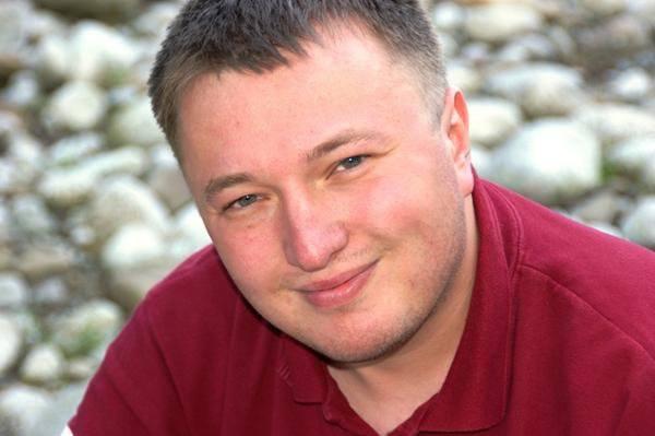Autor książki Tomasz Leyko (39 lat) jest rzecznikiem prasowym Urzędu Marszałkowskiego Województwa Podkarpackiego, wcześniej pracował m.in. w TVP Rzeszów i Nowinach.