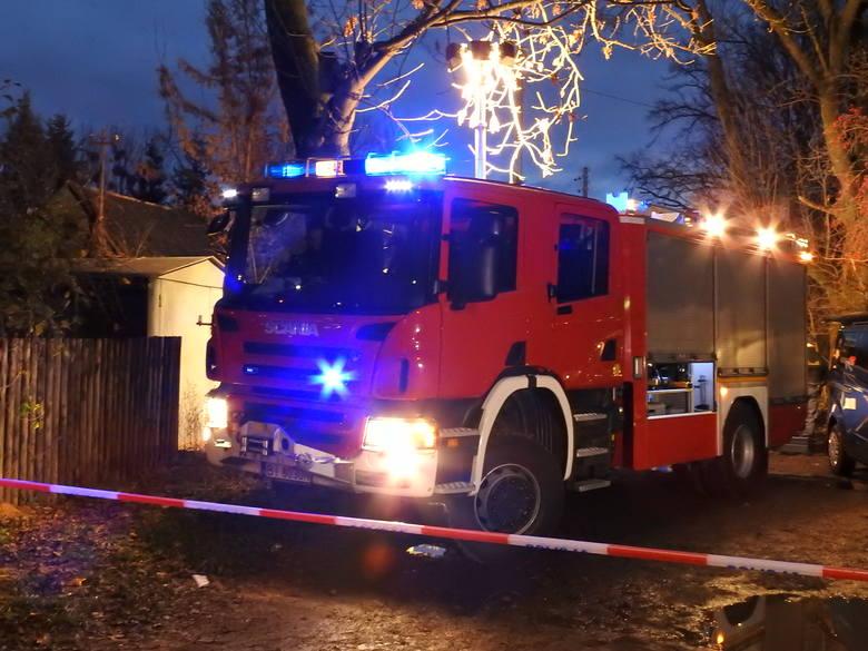 Tragiczny pożar w Białymstoku. Trzy osoby zginęły w płomieniach