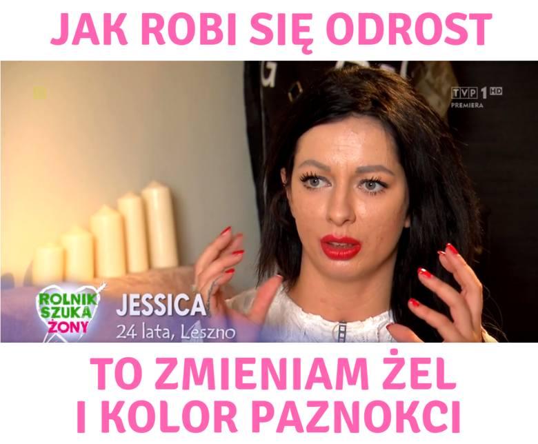 Jessica z Rolnik szuka żony [MEMY] Każde jej słowo powinno być haftowane na makatkach