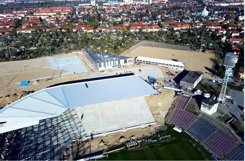Stadion Pogoni - 19 kwietnia 2020