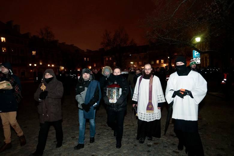 19.03.2021 warszawa meska droga krzyzowa w warszawien/z fot. adam jankowski / polska press