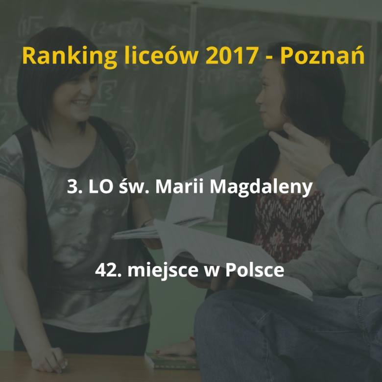 """""""Perspektywy"""" opublikowały ranking najlepszych szkół ponadgimnazjalnych 2017. Zobaczcie, jakie licea w Poznaniu zajęły w tym roku czołowe"""