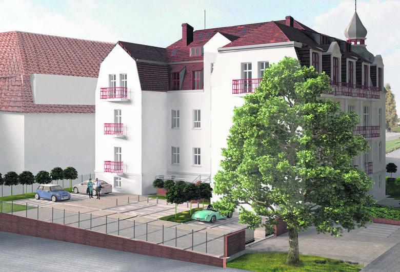 Tak będzie wyglądał nowy hotel. Projekt architektoniczny przygotowało Autorskie Studio Architektury z Rzeszowa
