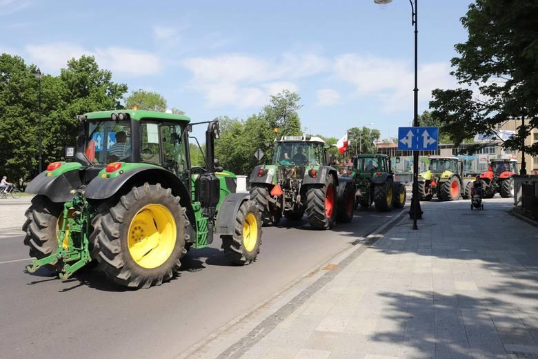 Protest rolników 9 maja w Białymstoku