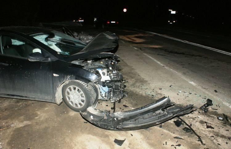 Wypadek na skrzyżowaniu ulic Szosa Zambrowska i Owocowa (zdjęcia)