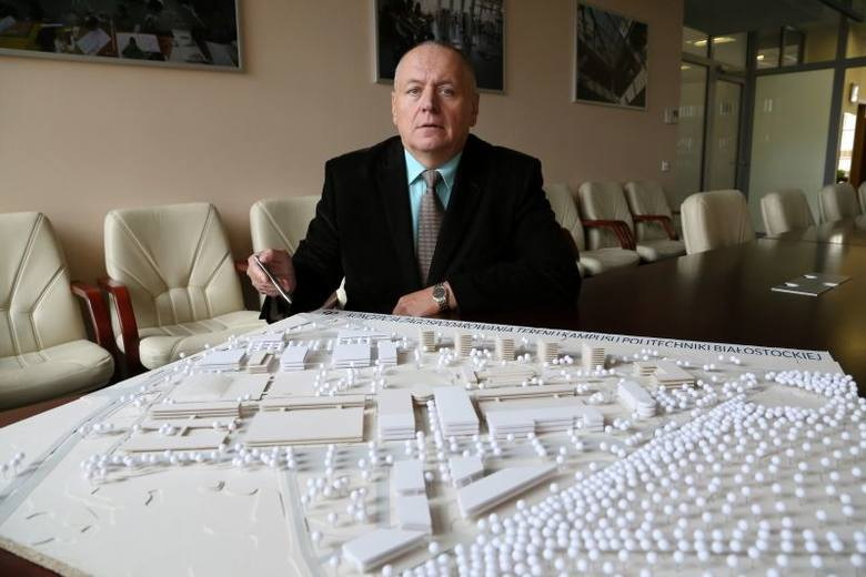 - Zamierzamy zaproponować to miejsce miastu, bo mamy jeden wspólny cel - mówi prof. Lech Dzienis, rektor Politechniki Białostockiej. - Jestem za tym,