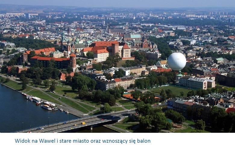 Kraków. W sierpniu nad miastem ma się unosić balon widokowy