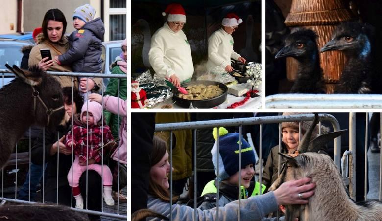 W niedzielne popołudnie na Rynku w Kruszwicy odbyło się wspólne kolędowanie przy Szopce Betlejemskiej. Były: szopka z żywymi zwierzętami, atrakcje ze