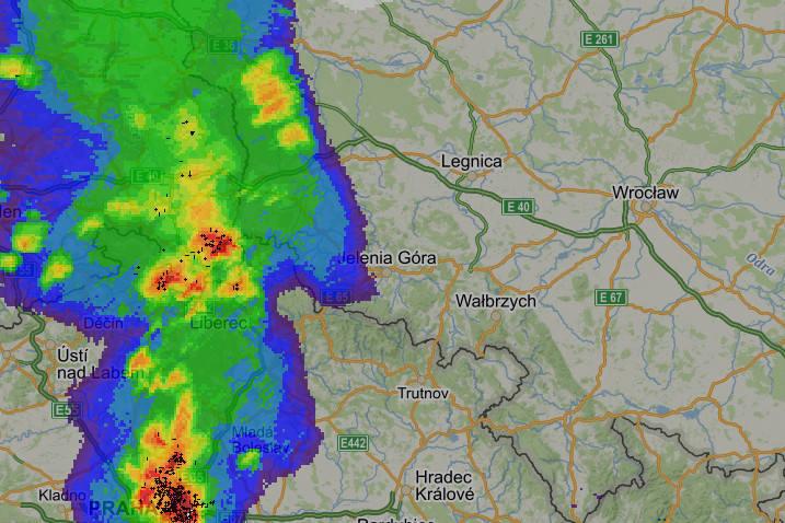 Gdzie jest burza radar burzowy. Sprawdź, czy będzie dzisiaj burza! Mapa burzowa, burza live, radar online.