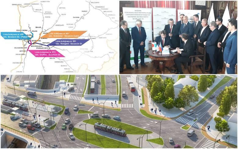 Budowa Szczecińskiej Kolei Metropolitalnej – 28,8 mln zł CZYTAJ WIĘCEJ: Szczecińska Kolej Metropolitalna. Zobacz, jak będą nazywać się przystanki