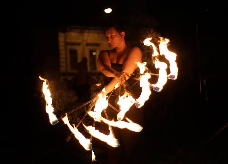 Czerwiec - Fireshow podczas Nocy Kultury