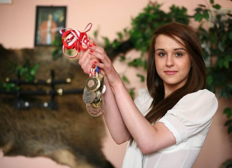 Agnieszka odnosiła sukcesy w tańcu. To medale, które ma na swoim koncie.