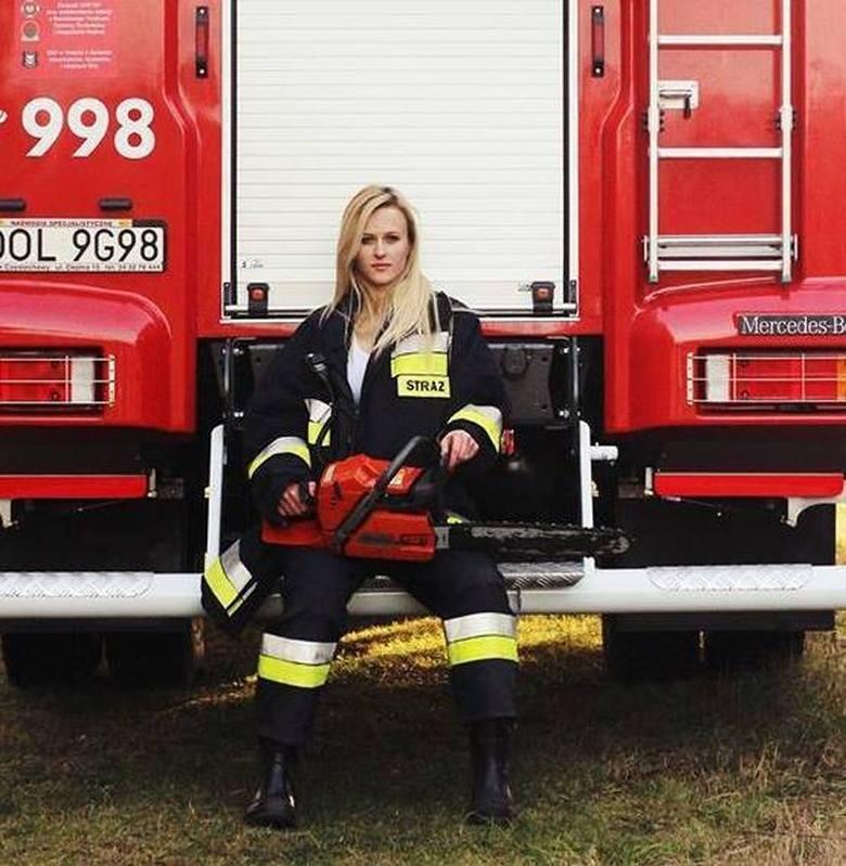 Najpiękniejsza druhna w Polsce. 18-letnia Paulina Jarząb z OSP Praszka wygrała dwa strażackie konkursy piękności. Zdobyła tytuł Miss Polskich Mundurowych