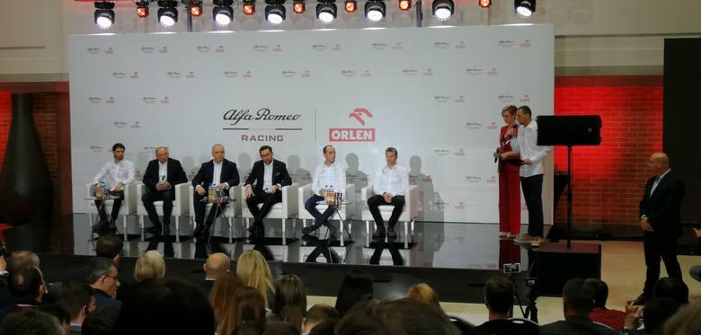 W poniedziałek 24 lutego w siedzibie PKN Orlen w Warszawie odbyła się oficjalna prezentacja Alfa Romeo Racing Orlen. W budynku Senator przy ulicy Bielańskiej