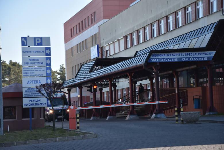 Szpital w Grudziądzu z dnia na dzień został przemianowany na zakaźny. Od połowy marca 2020 roku