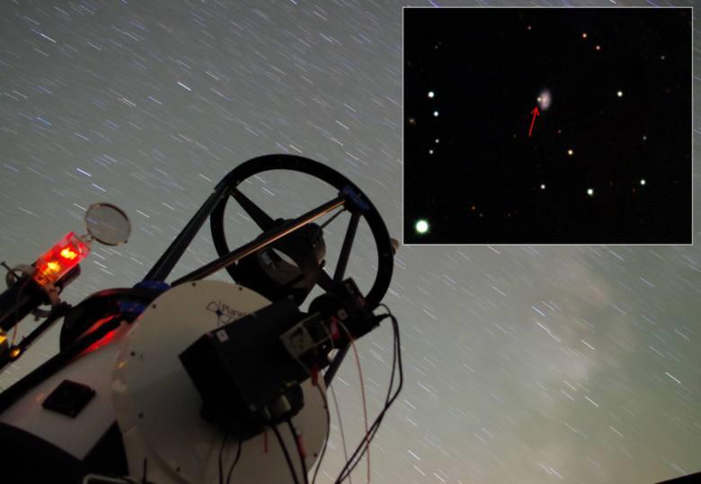 Obserwacje poznańskich naukowców zostały wykonane przy pomocy teleskopu Romana Baranowskiego, należącego do UAM, ale znajdującego się w Arizonie.
