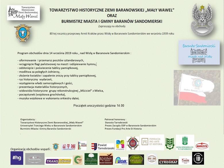 W Baranowie Sandomierskim upamiętnią 80. rocznicę przeprawy Armii Kraków przez Wisłę. Zobacz widowisko historyczne