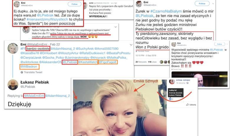 """Wiceminister Łukasz Piebiak inicjował hejt przeciw sędziom? Akcja miała skompromitować szefa stowarzyszenia """"Iustitia"""" Krystiana Markiewic"""
