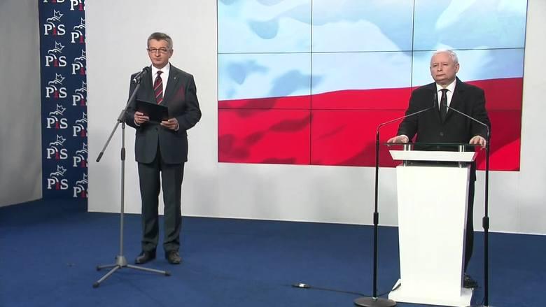 Marek Kuchciński zapowiada swoją dymisję