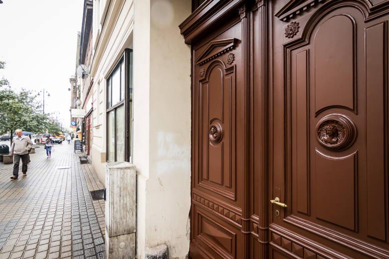 Kamienica przy ulicy Gdańskiej 141. Mistrz murarski Georg Weis wzniósł ją na własne potrzeby w latach 1906-1907