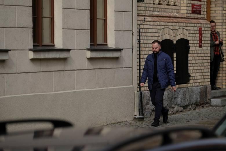 Mariusz Milewski, początek procesu w Toruniu.
