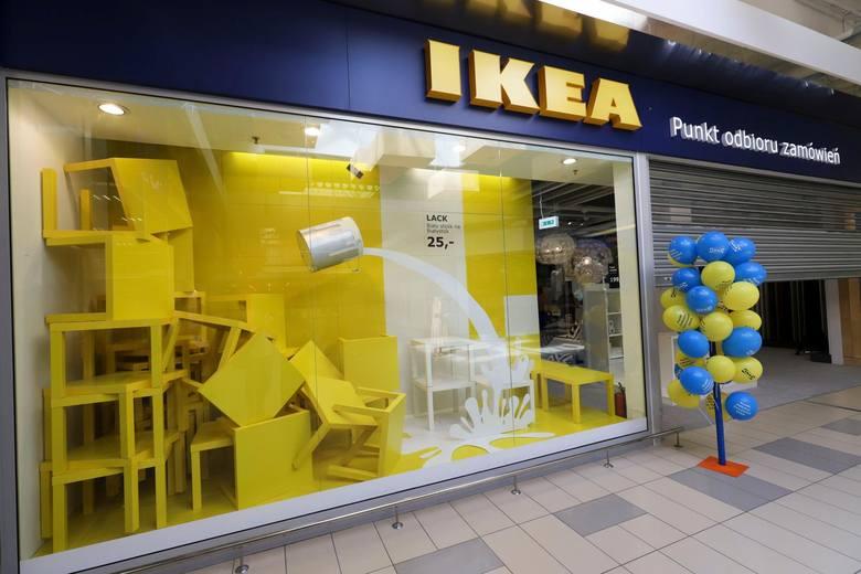 IKEA w Białymstoku - punkt odbioru w CH Auchan przy ul. Produkcyjnej