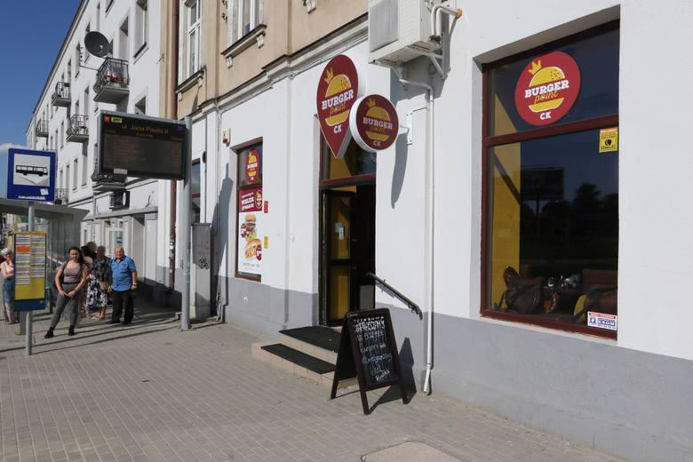 Nowa lokal w Kielcach. Burger Point CK już działa przy Krakowskiej Rogatce (ZDJĘCIA)
