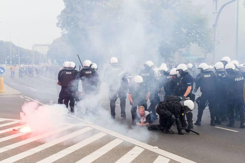 Białystok. Policja poszukuje osoby poszkodowanej podczas Marszu Równości