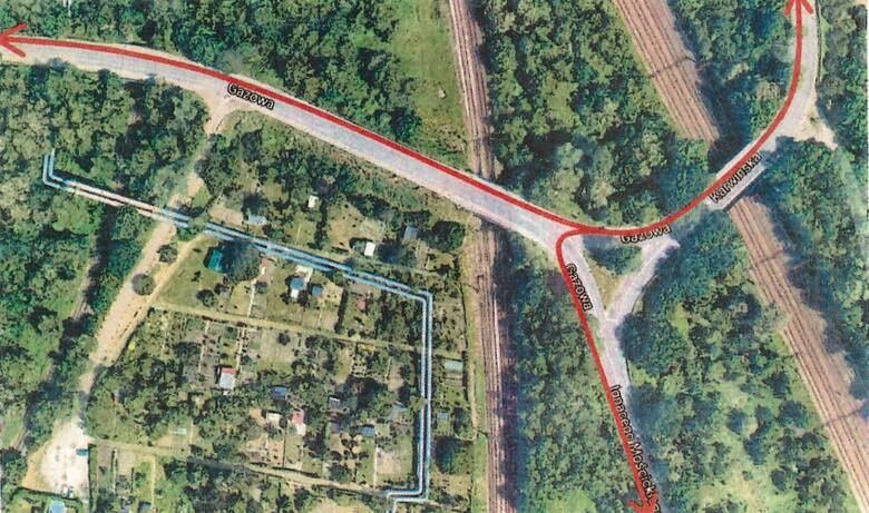 Planowana trasa rowerowa na wiaduktach