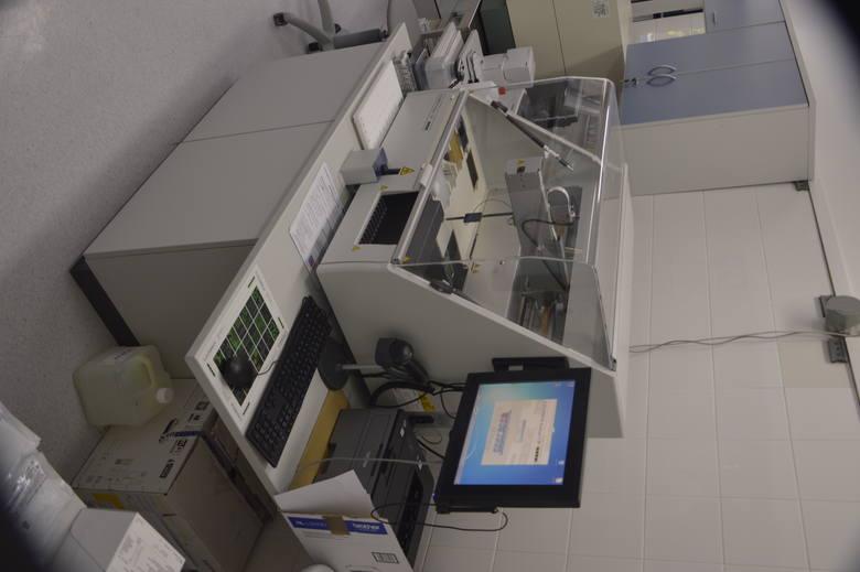 Analizator immunologiczny wraz z odczynnikami kosztował ponad 330 tys. zł