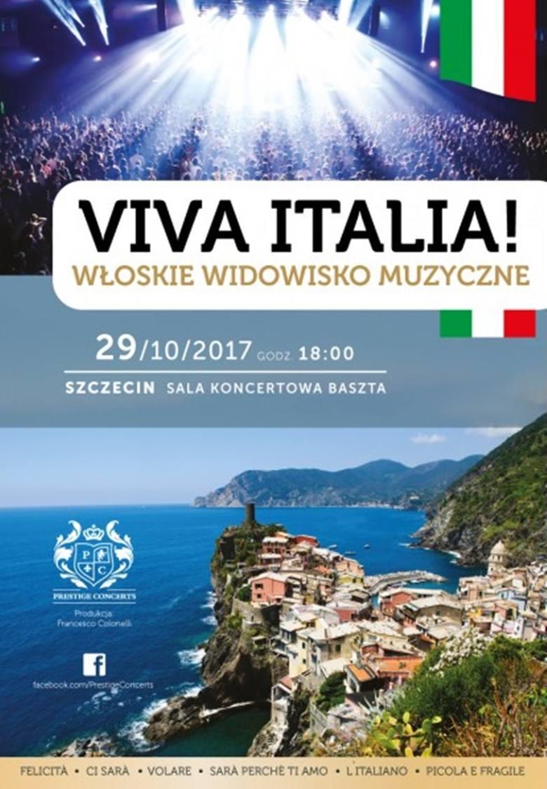 Viva ItaliaŻywiołowy i porywający spektakl muzyczny, powstały w wyniku sympatii do włoskiej kultury oraz radosnych i pełnych energii przebojów włoskiej
