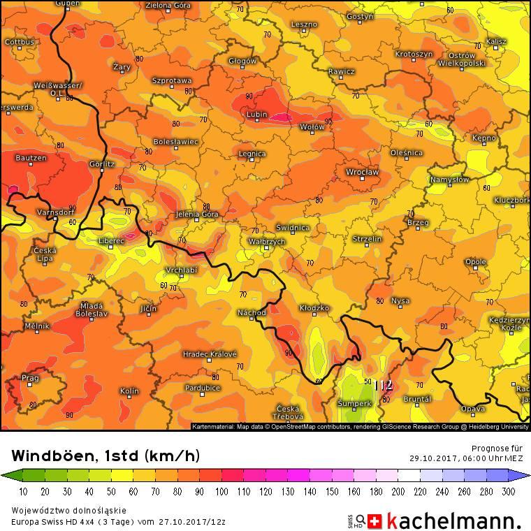 Orkan Grzegorz nadciąga nad Wrocław. Wydano ostrzeżenia!