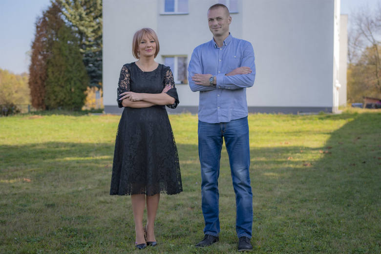 Nad organizacją wydarzeń i  inwestycji czuwa sołtys - Paweł Bartosiński (w górnym prawym zdjęciu), a w ich realizacji wspiera sołectwo burmistrz gminy