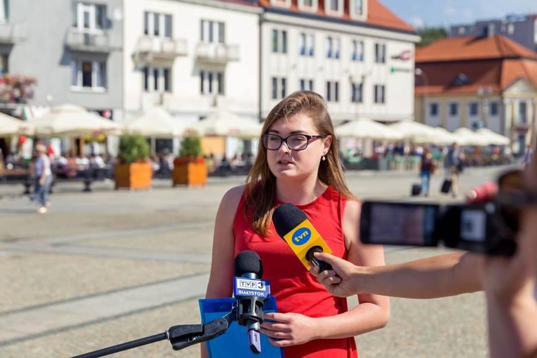 Katarzyna Rosińska z Partii Razem postuluje o edukację seksualną w szkołach.