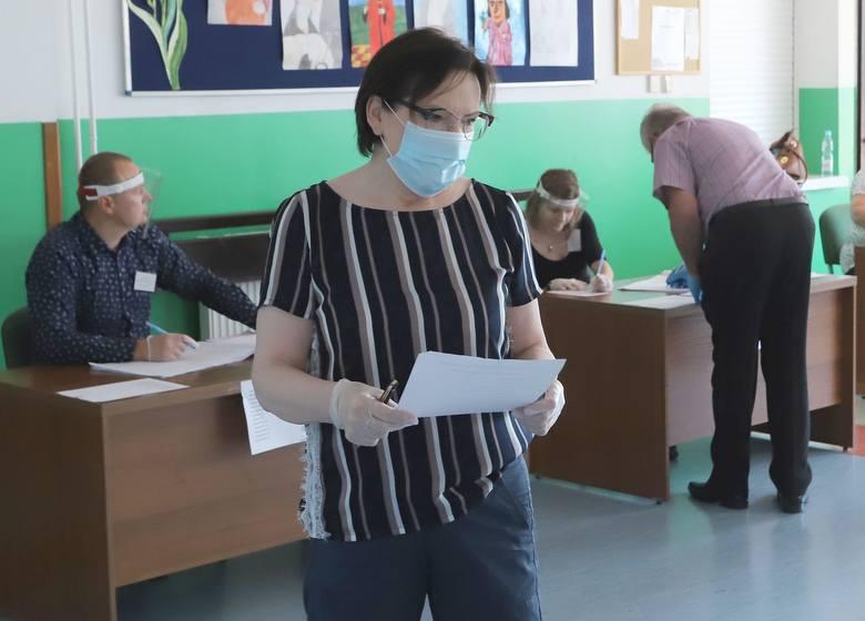 Wiceprzewodnicząca Parlamentu Europejskiego Ewa Kopacz głosowała tradycyjnie na ulicy Wyścigowej w Radomiu