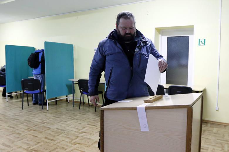 Głosowanie w Świnoujściu