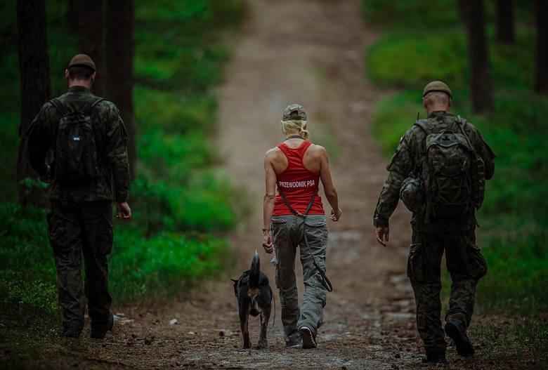Egzamin Śląskiej Brygady Obrony Terytorialnej na Dziewiczej Górze w powiecie lublinieckim